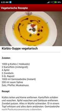 Vegetarische Rezepte screenshot 4