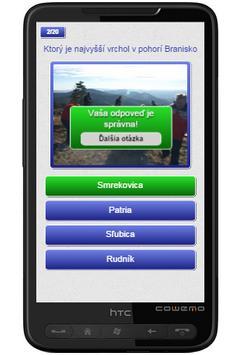 Kvíz:Osobnosti turistiky Spiša apk screenshot