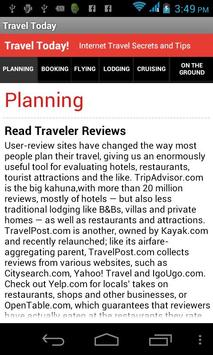 Travel Today apk screenshot