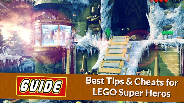 Guide for LEGO Marvel Heroes poster