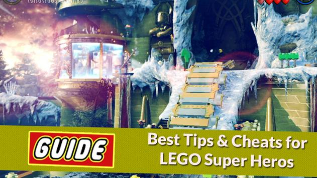 Guide For LEGO Marvel S Heroes poster