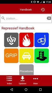 Handboek Brandweer Zeeland poster