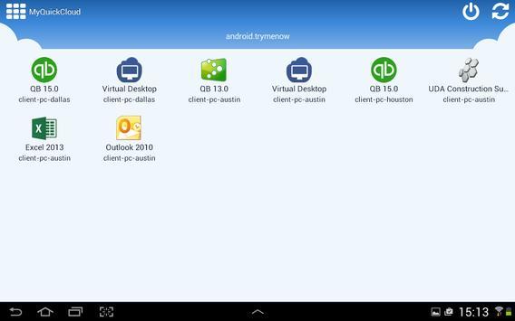 MyQuickCloud apk screenshot