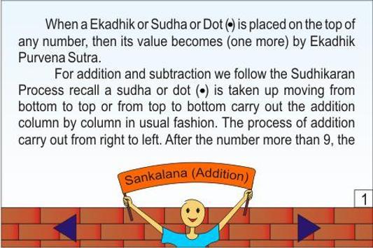 Vedic Maths - Sankalana(Add) poster