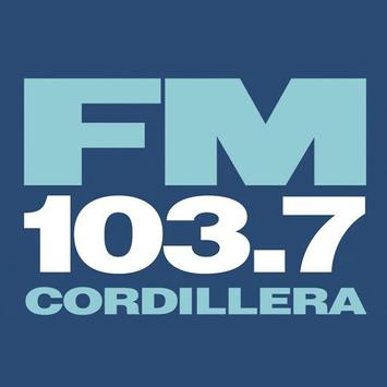 Cordillera FM 103.7 Mhz poster