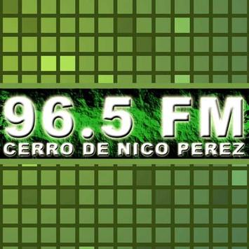 Fm Cerro de Nico Perez 96.5 poster