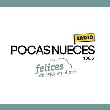 Radio Pocas Nueces 106.5 MHz poster