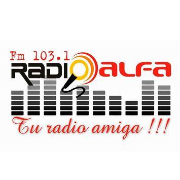 RADIO ALFA BALCARCE poster
