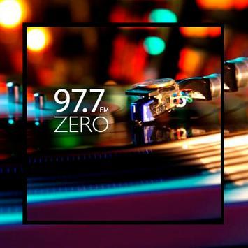 Radio Zero 97.7 Mhz poster