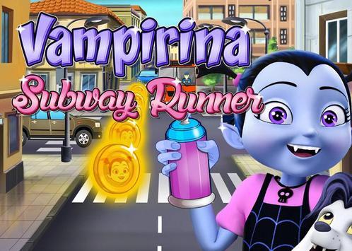 Vampirina Subway Runner poster