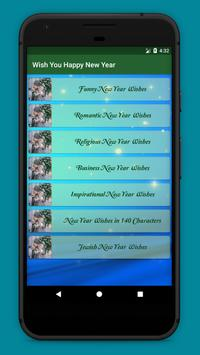 Happy New Year   Wishes   Message   Poem   Quests apk screenshot