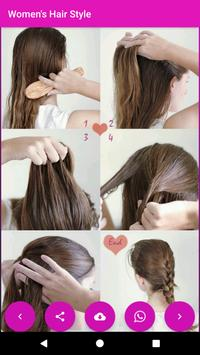 Women's Hair Style Latest   Cute girl Hair Style screenshot 7