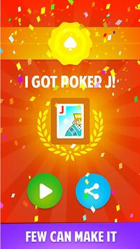 Get Poker J screenshot 1