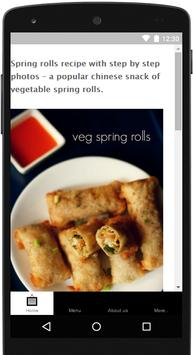 Spring Roll Recipe poster
