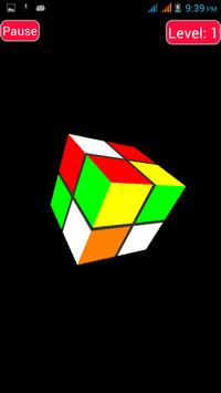 Pocket Rubik 3D - Free screenshot 1