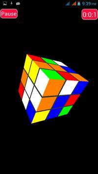 Pocket Rubik 3D - Free screenshot 3
