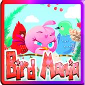Pink Bird Fight Match Puzzle icon
