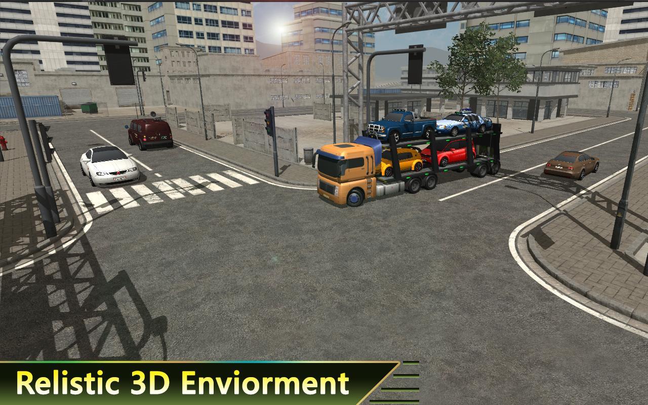 Euro Car Wood Transport Trailer Cargo 3d Trucker Apk Download