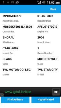 Vehicle Lookup (Search) screenshot 2