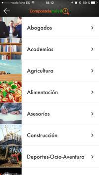 Compostela Móvil screenshot 1