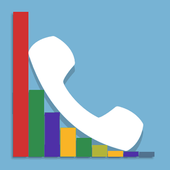Phone Call Histogram icon