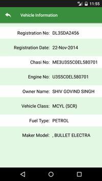 Vehicle License Info screenshot 3