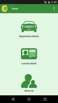 Vehicle License Info poster