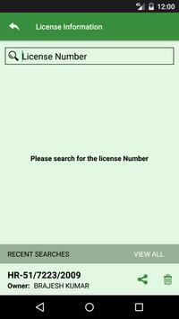 Vehicle License Info screenshot 4
