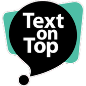 Text on Top - Vision icon