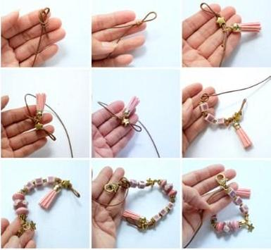 DIY Bracelet Tutorials and design collections poster