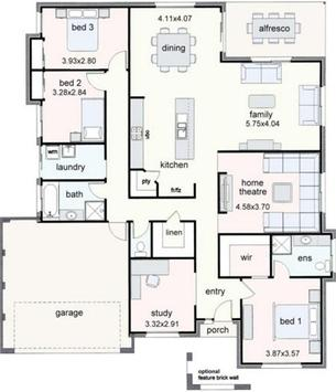 House Plan Design Idea New poster