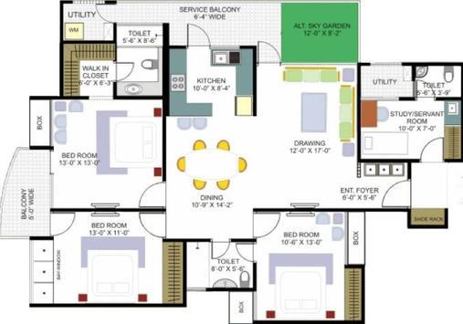 House Plan Design Idea New screenshot 2