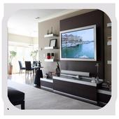Shelves Tv Design Style Idea New icon