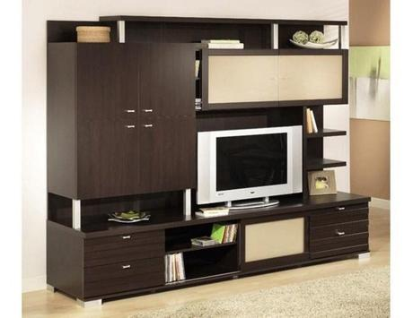 Shelves Tv Design Style Idea New poster