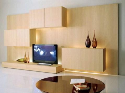 Shelves Tv Design Style Idea New screenshot 10