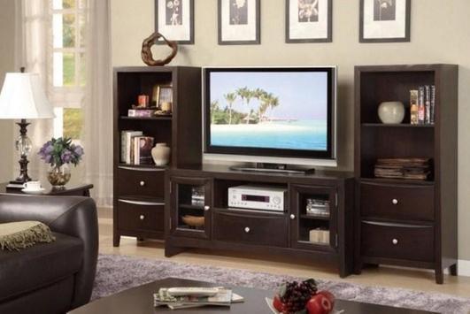 Shelves Tv Design Style Idea New screenshot 11