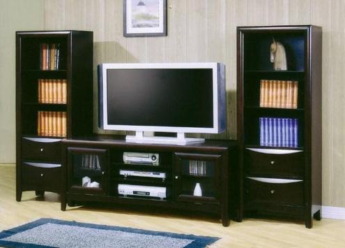 Shelves Tv Design Style Idea New screenshot 12