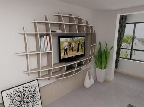 Shelves Tv Design Style Idea New screenshot 13