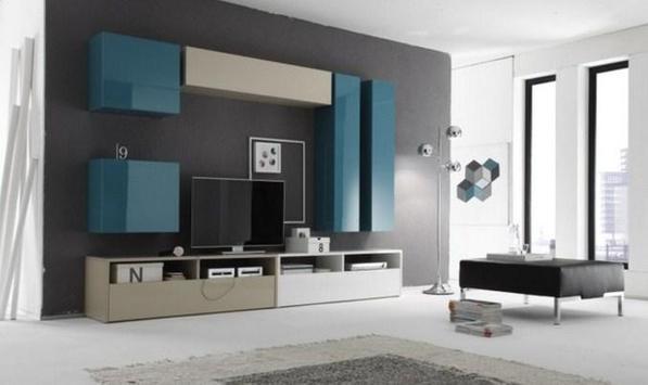 Shelves Tv Design Style Idea New screenshot 1