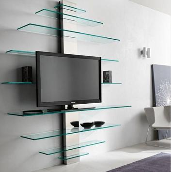 Shelves Tv Design Style Idea New screenshot 2