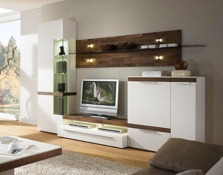 Shelves Tv Design Style Idea New screenshot 3