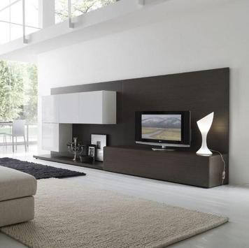 Shelves Tv Design Style Idea New screenshot 4
