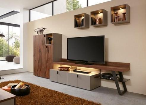 Shelves Tv Design Style Idea New screenshot 5