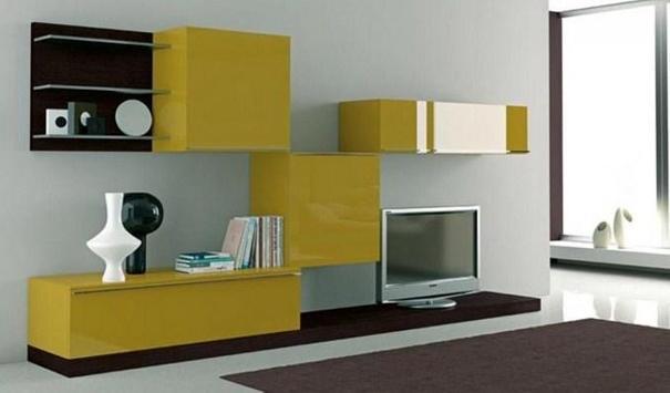 Shelves Tv Design Style Idea New screenshot 7