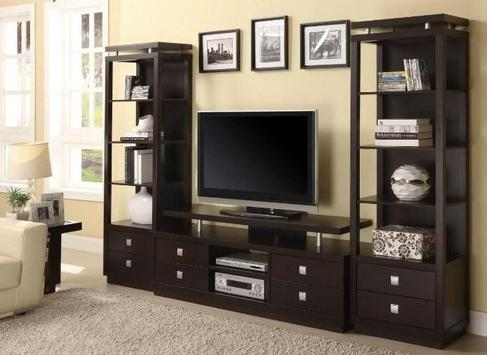 Shelves Tv Design Style Idea New screenshot 8