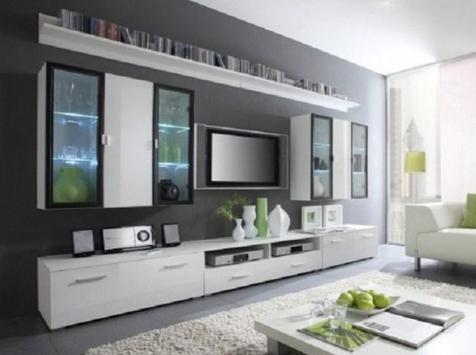 Shelves Tv Design Style Idea New screenshot 9