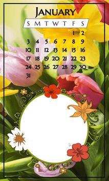 Calendar Photo Frames 2018 apk screenshot