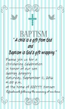 Baptism invitation maker apk download free social app for android baptism invitation maker poster baptism invitation maker apk screenshot stopboris Choice Image