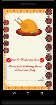 Thanksgiving Invitation apk screenshot