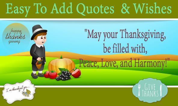 Thanksgiving Greeting Cards apk screenshot